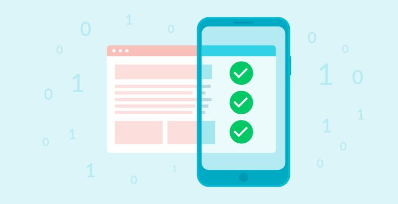 Mobile data looks different than desktop data