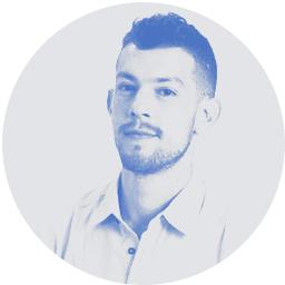 Evyatar Korlanski - Product manager at JDC Tevet - circular photo - PNG transparent